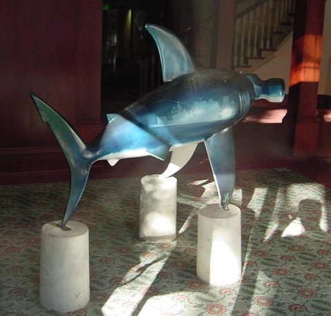 The Shark statue called HammerHead1