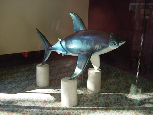 The Shark statue called HammerHead2