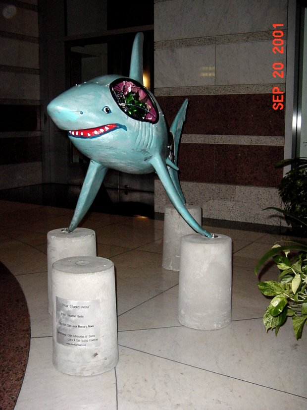 The Shark statue called HowSharksWork1